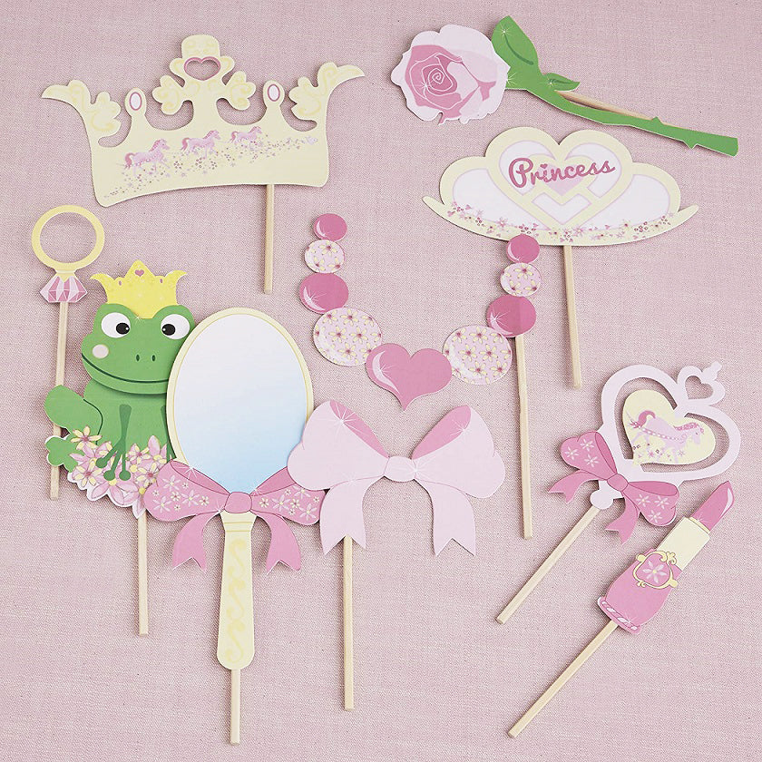 Princess Party Photo Booth Props by Ginger Ray