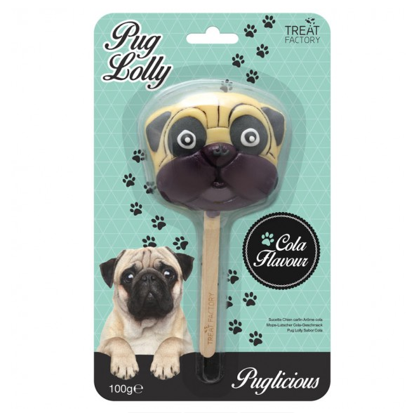 Pug Cola Lolly by Treat Factory