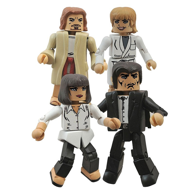 Pulp Fiction Vincent & Mia's Night Out Minimates Box Set