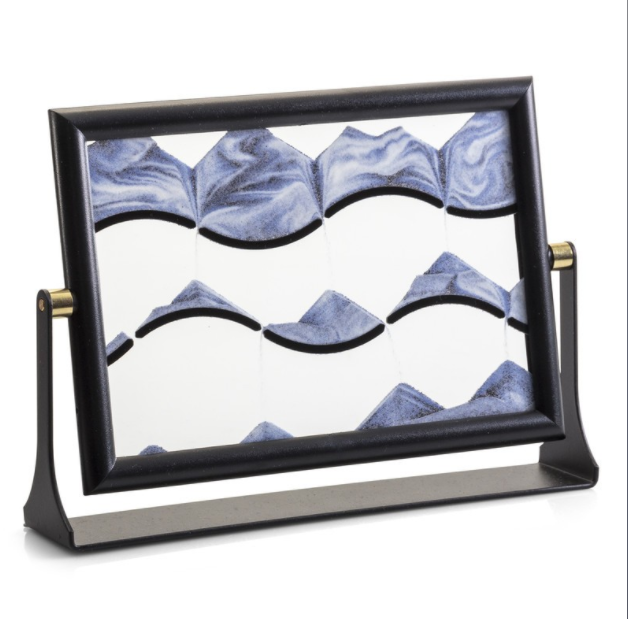Sand Picture in Frame