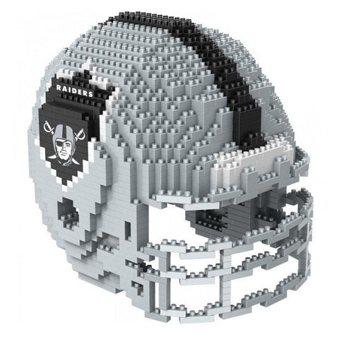 American Football BRXLZ Team Helmet 3D Puzzle - Oakland Raiders