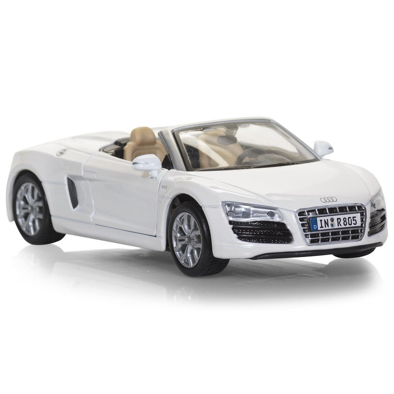 Audi R8 Spyder 1:24 Scale Die Cast Replica Model Car