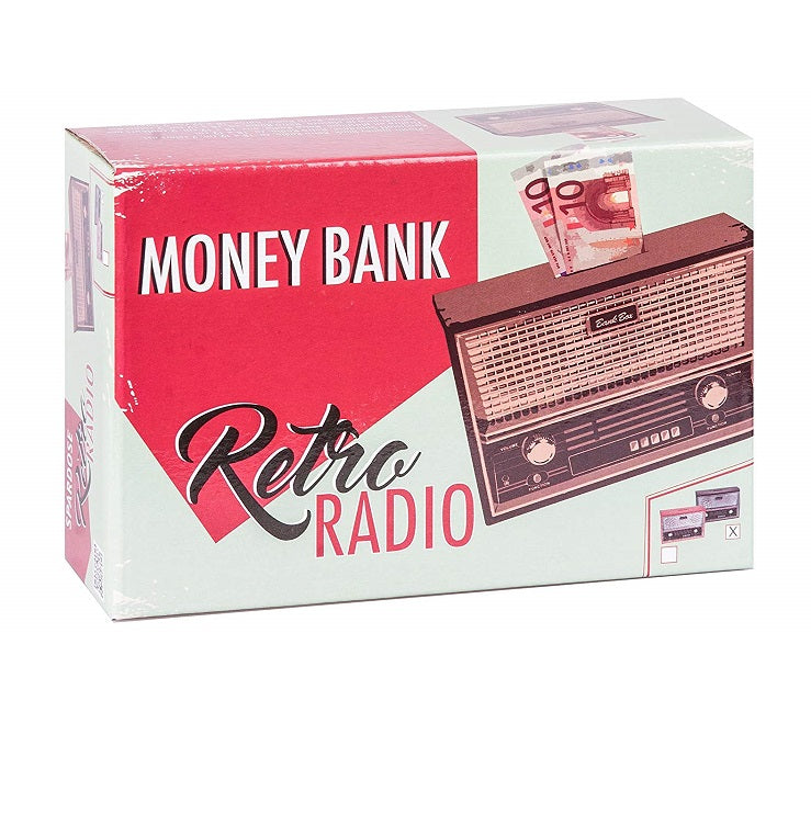 Retro Radio Money Bank by OOTB Box