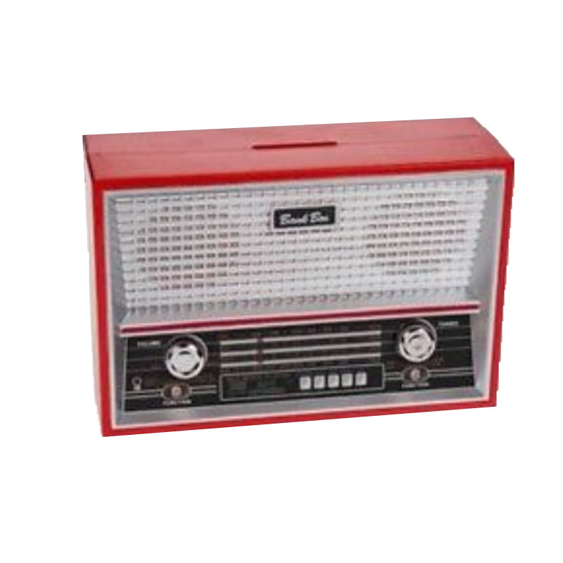 Retro Radio Money Bank by OOTB Red