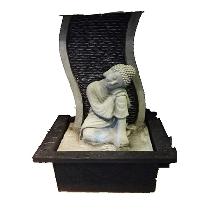 Resting Buddha Indoor Water Feature