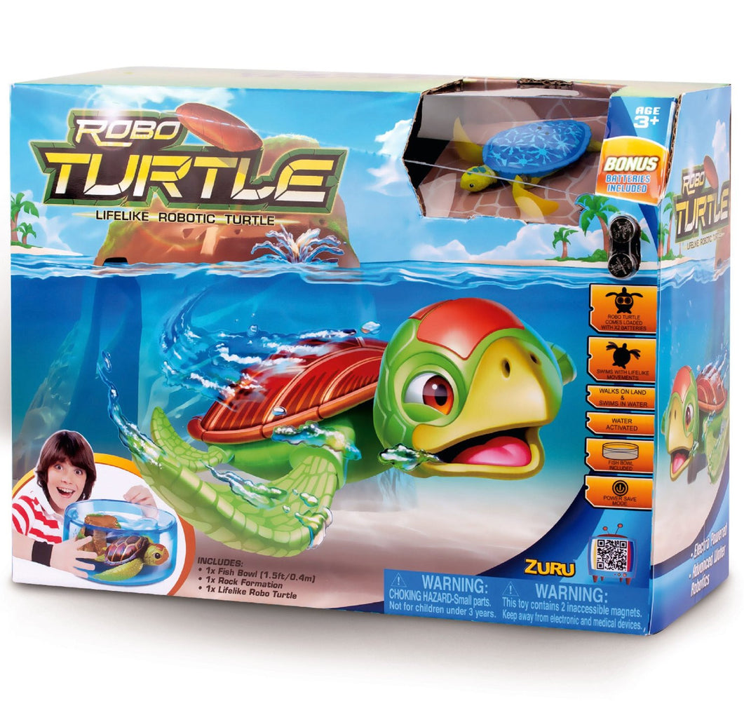 Tobar Robo Turtle Playset