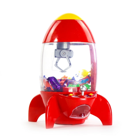 Rocket candy grabber claw machine
