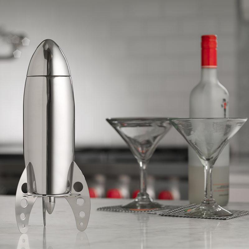 Viski Rocket Cocktail Shaker