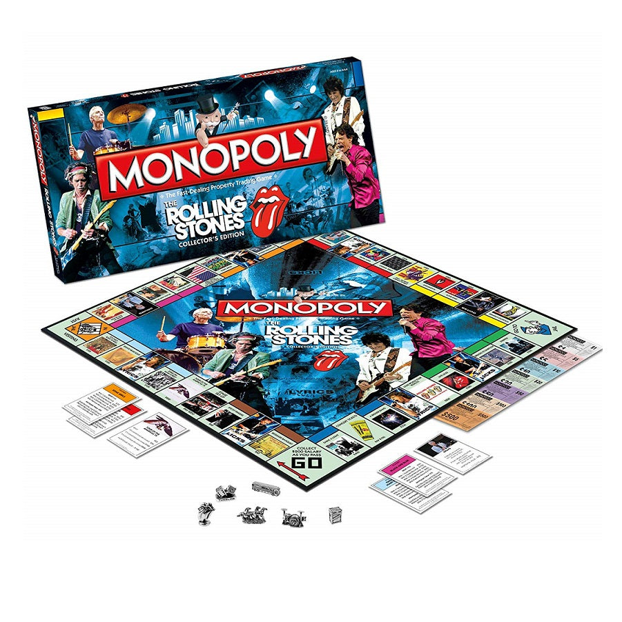 Monopoly The Rolling Stones Collector's Edition Board Game