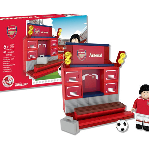 Nanostars Arsenal FC Changing Room Brick Construction Set