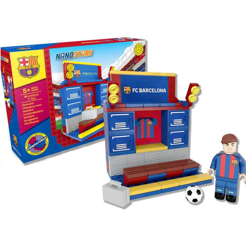 Nanostars FC Baarcelona Changing Room Brick Construction Set