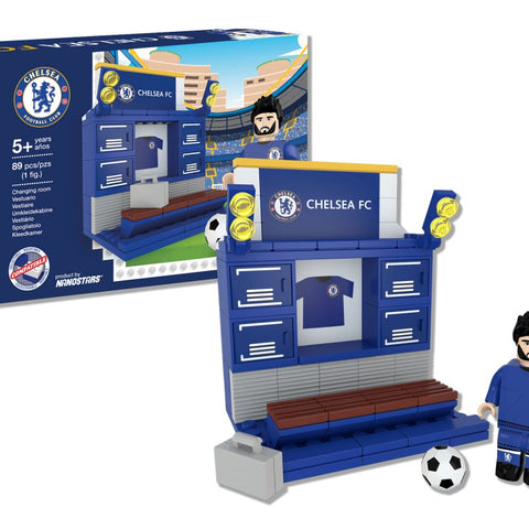 Nanostars Chelsea FC Changing Room Brick Construction Set