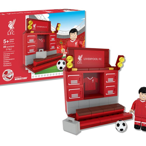 Nanostars Liverpool FC Changing Room Brick Construction Set