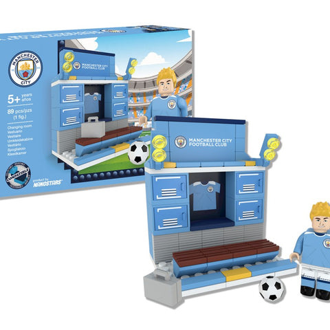 Nanostars Manchester City FC Changing Room Brick Construction Set