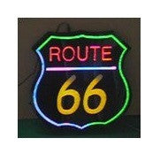 Steepletone 'Route 66' Retro Style LED Sign