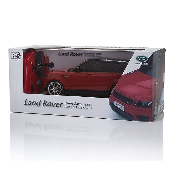 Range Rover Sport Red 1:24 Remote Control Car Box