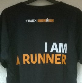 Timex Ironman 'I Am A Runner'  T-Shirt - Black