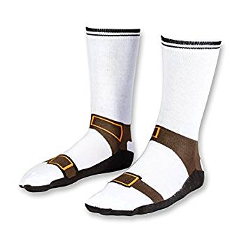 Sandal with socks