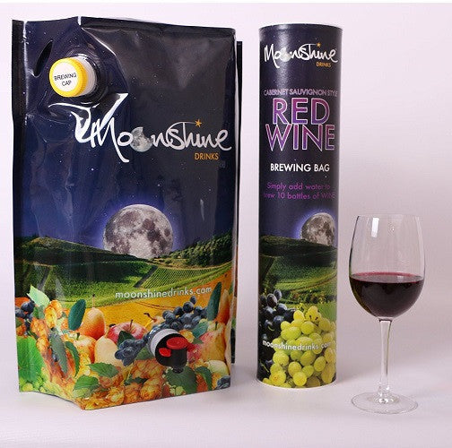 Moonshine Cabernet Sauvignon Style Red Wine Brewing Bag