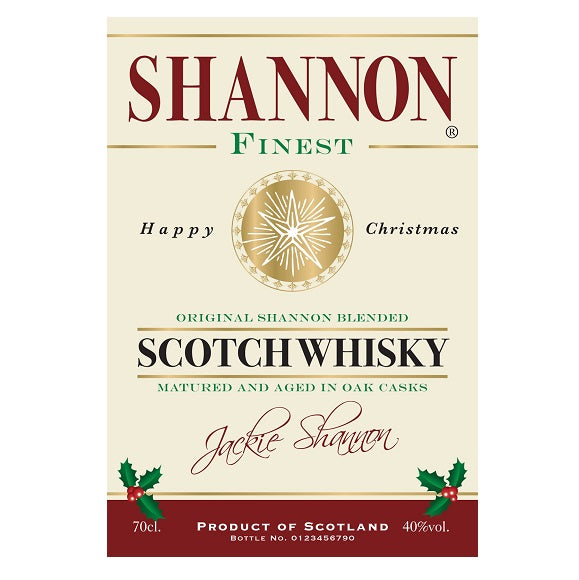 Personalised Gifts Labels for Blended Whisky (Pack of 2)