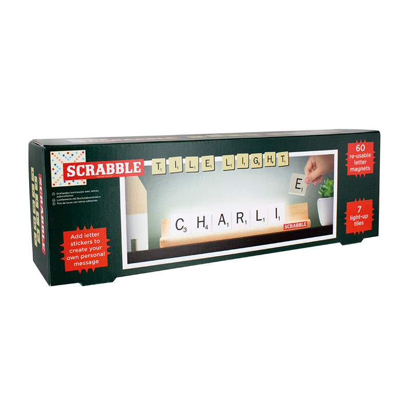 Scrabble Tile Light by Paladone Box