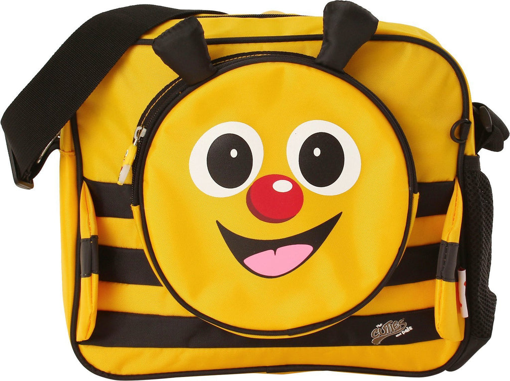 Cuties & Pals Cazbi Bee Soft Shoulder Messenger Bag