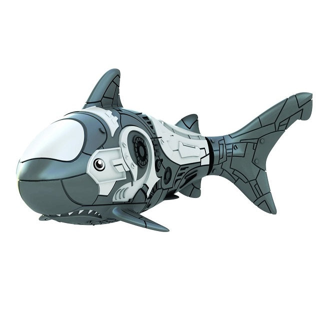 Robo Fish grey robotic shark