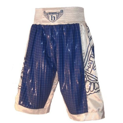 Hatton Boxing Club Shorts - Blue/White