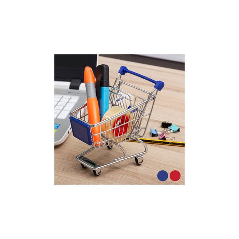 fun shopping trolley pen holder gifts for kids, him or her