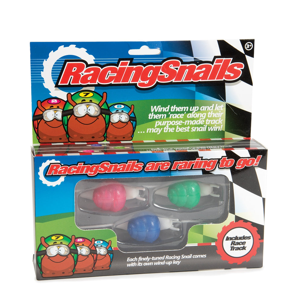 Racing Snails With Track