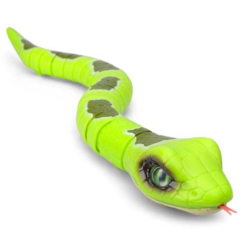 Robo Alive Slithering Snake - Green Emerald Tree Boa