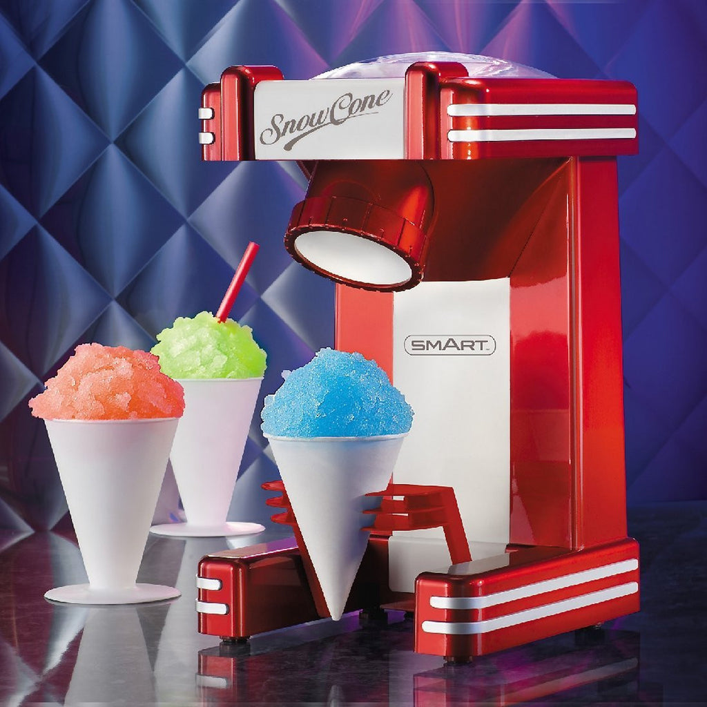 SMART Retro Single Snow Cone Maker - Red