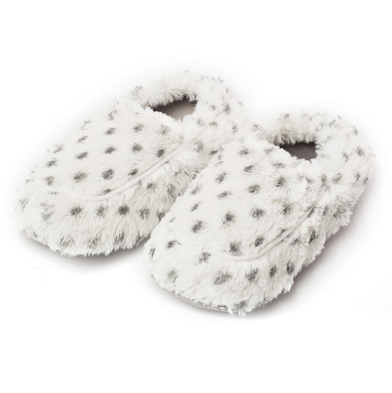 Warmies Lavender Scented Snowy Cozy Plush Slippers