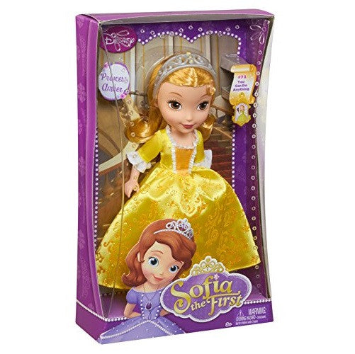 "Disney Sofia 10"" Princess Amber Doll"