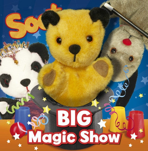 'Sootys Big Magic Show' Hardback Book with Puppet