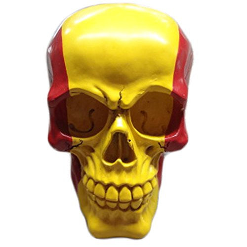 Gruesome Skulls Ornament - Spanish Flag Skull (Spain)