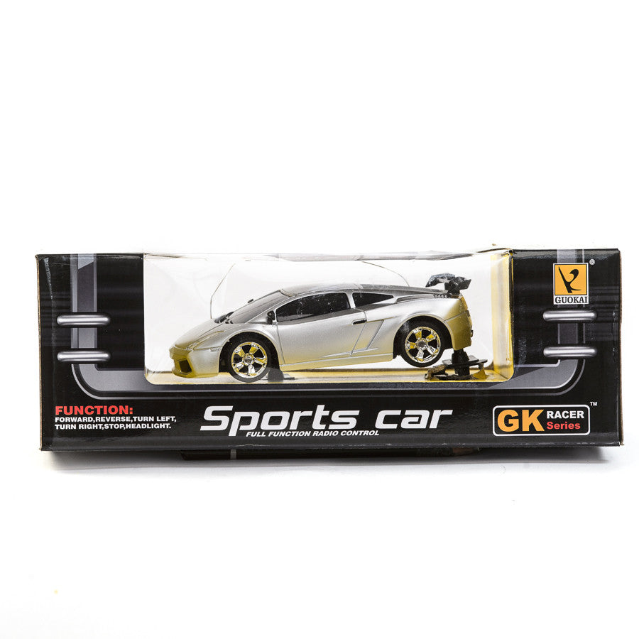 Guokai Radio Control Sports Car - Silver