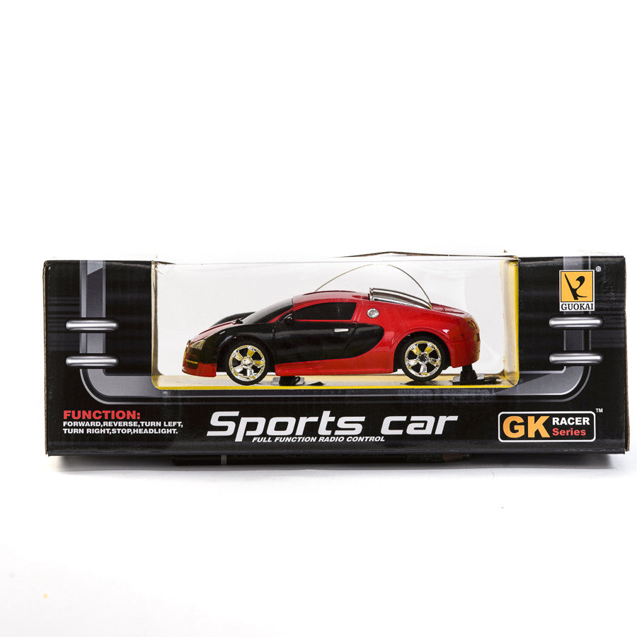 Guokai Radio Control Sports Car - Red & Black