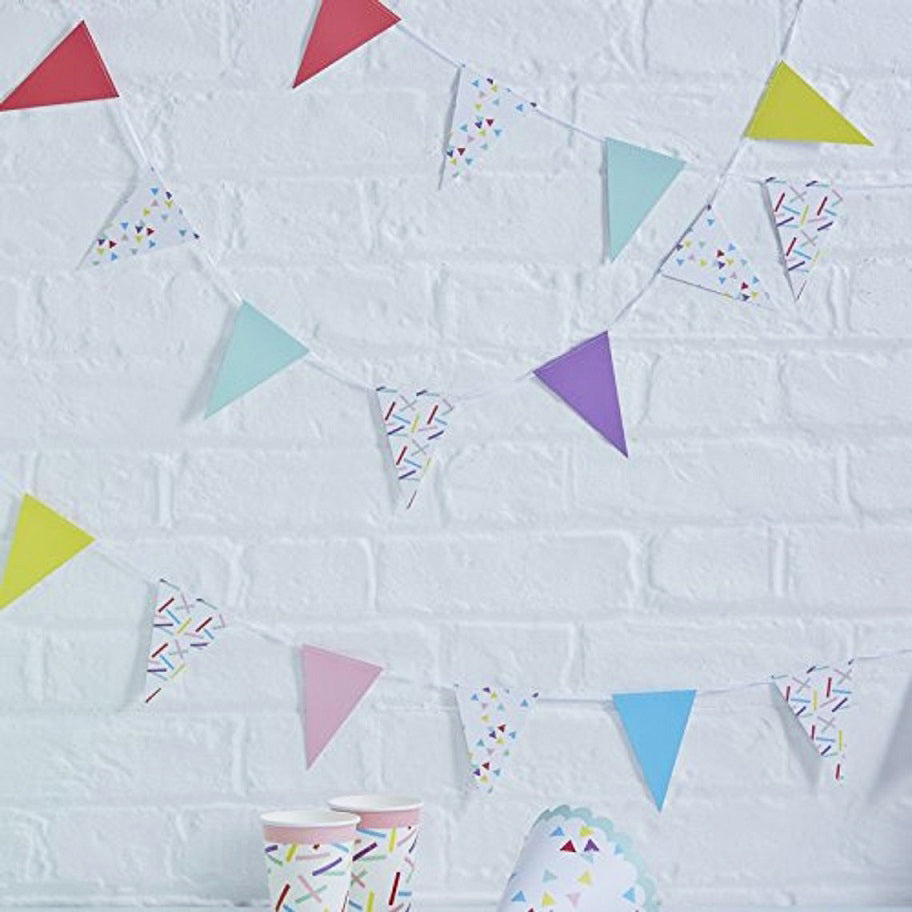 Sprinkles Mini Bunting 4M by Ginger Ray