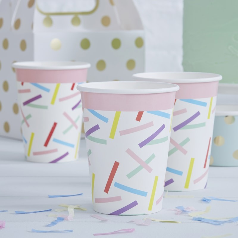 Sprinkles Paper Cups by Ginger Ray