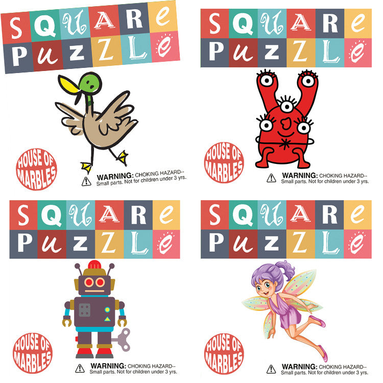 Pocket Money Classic - Square Puzzle