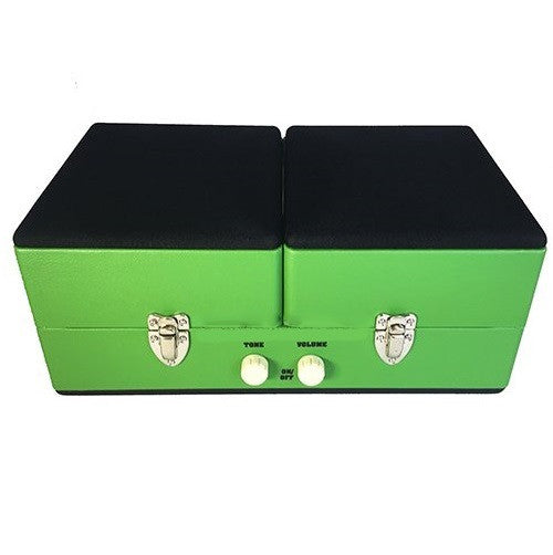 Steepletone SRP030S Retro Vinyl 2 Speed Record Player Turntable - Green