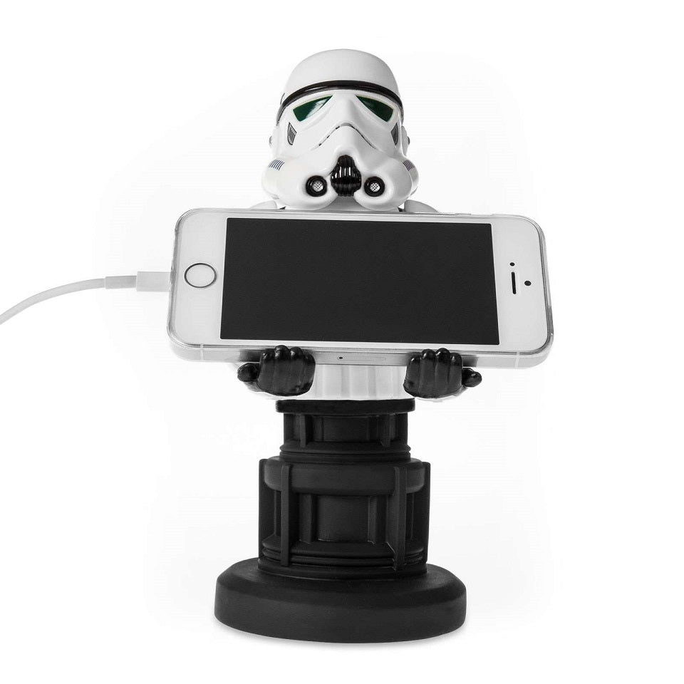 Cable Guy Stormtrooper Gaming Controller / Phone Holder with Phone