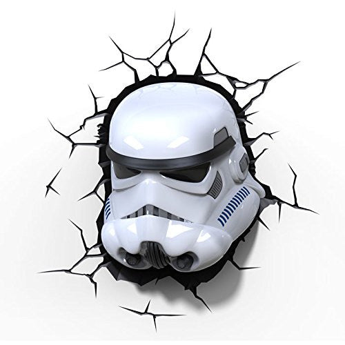 Star Wars: The Force Awakens - Stormtrooper 3D Deco Wall Mood Light