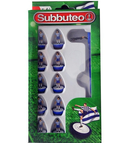 Subbuteo Football Team Set (Blue/ White)
