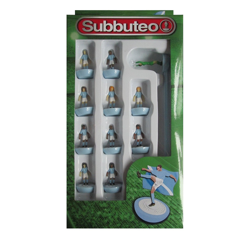Subbuteo Football Team Set (Light Blue)