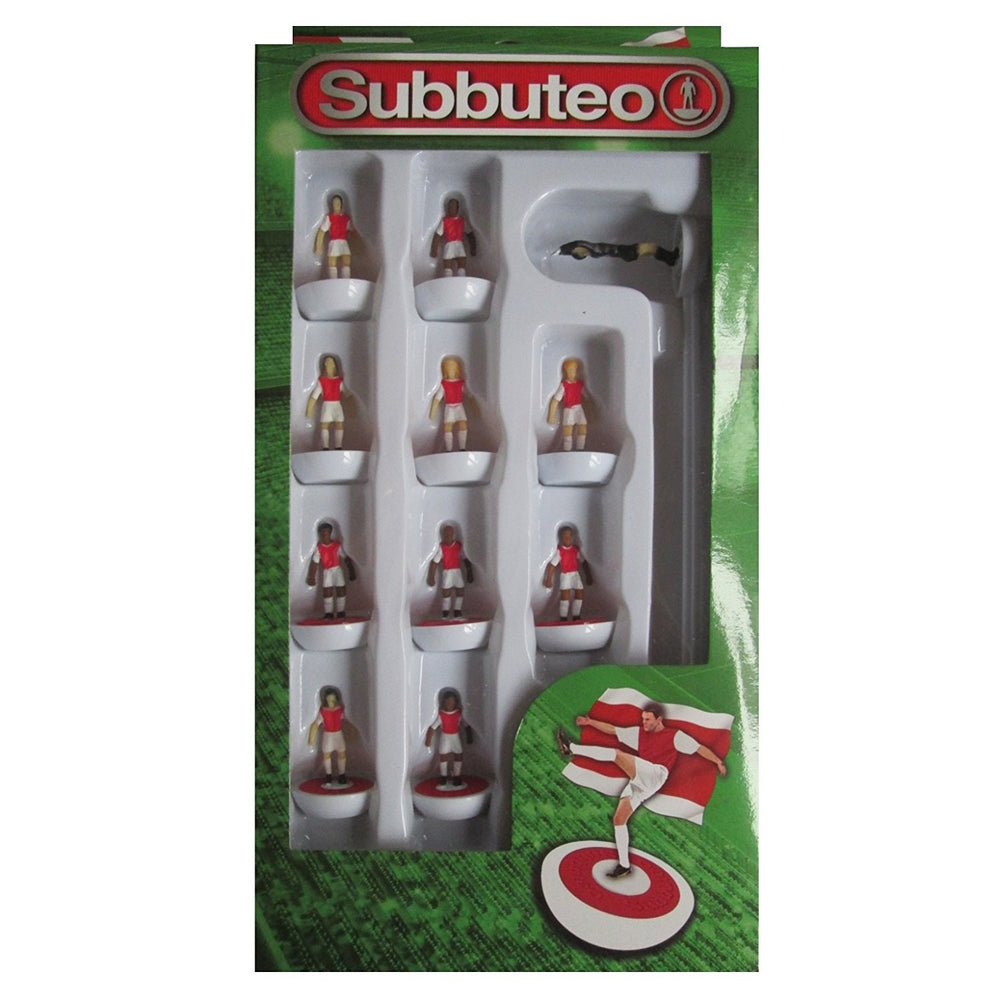 Subbuteo Football Team Set (Red/White)