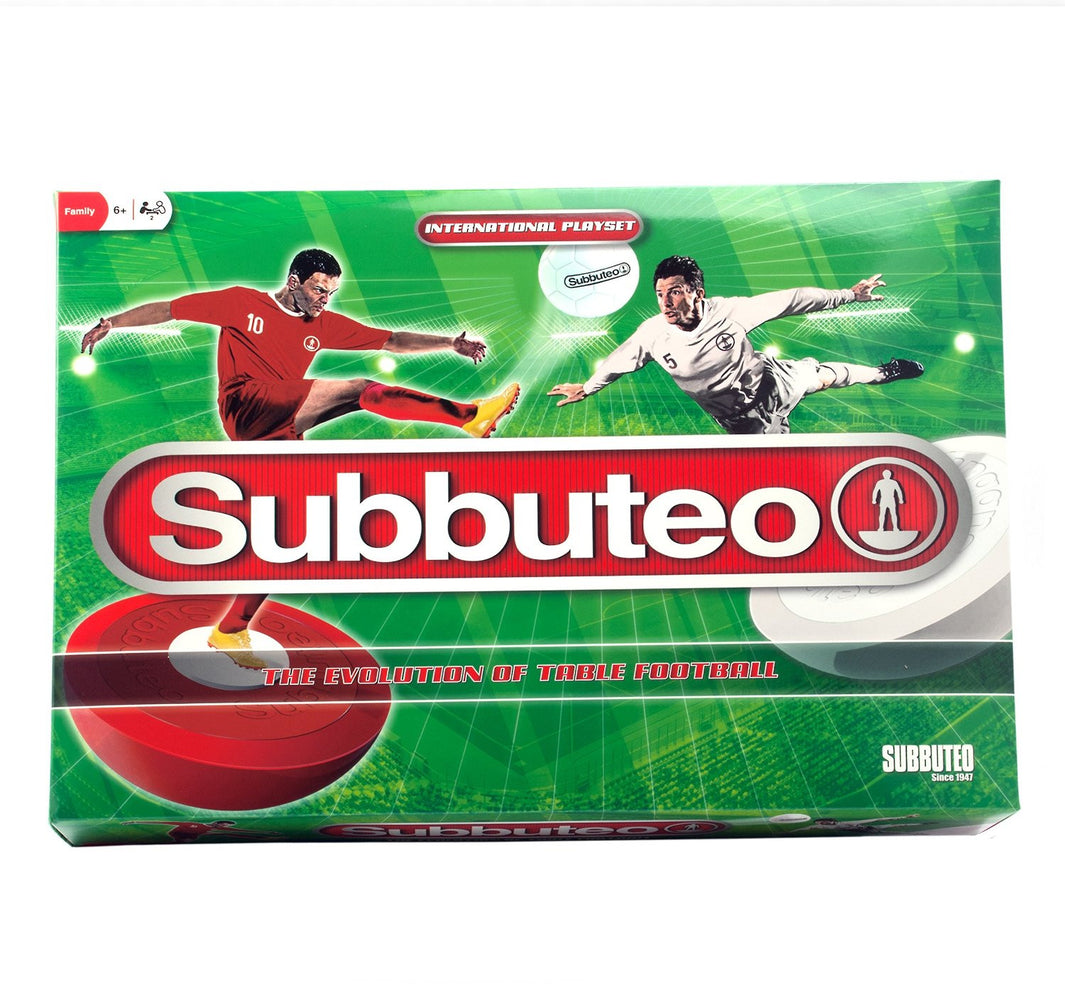Subbuteo The Game - International Playset - The Evolution of Table Football