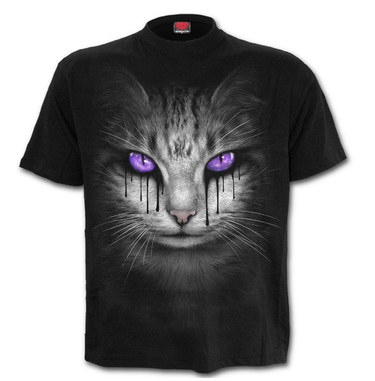 Women's Cat's Tears Black T-Shirt