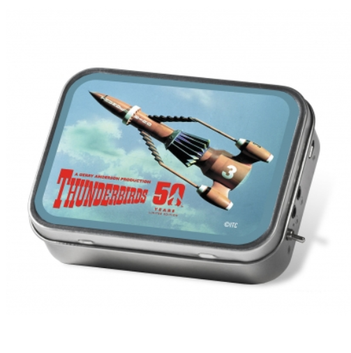 Tinamps Portable Speaker in Tin - Thunderbirds 3